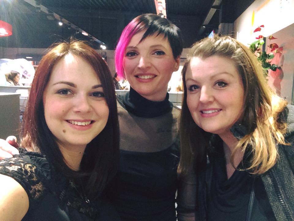 Gwen, Tatiana, Isabelle