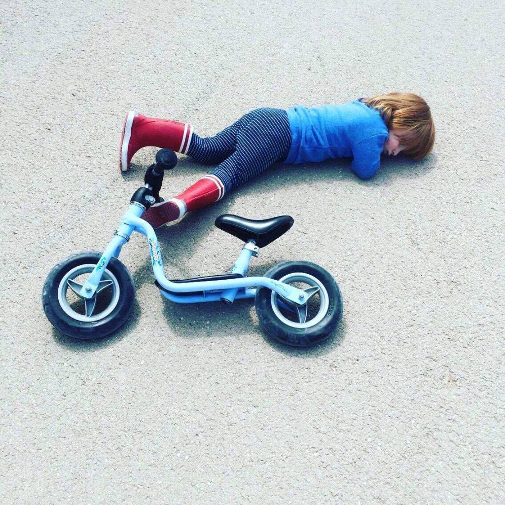 Aigle et vélo
